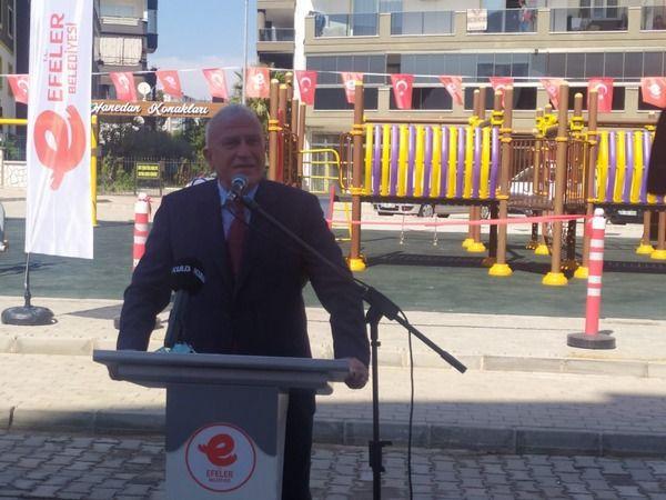 Efeler Belediyesi park açılışını gerçekleştirdi