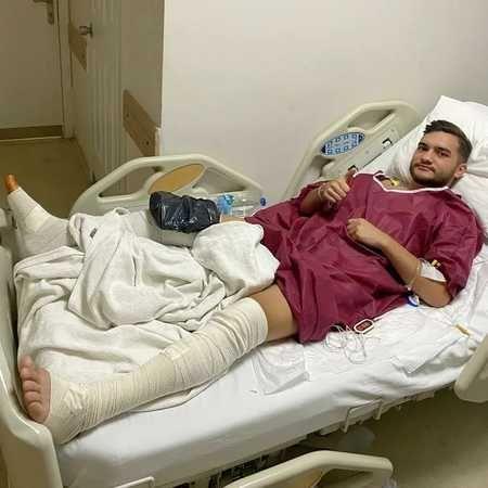 Genç futbolcu ameliyata alındı