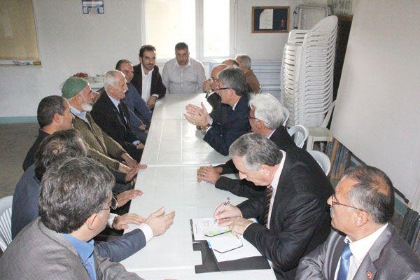 AKP Gölcük Köylere ziyaret programını başlattı