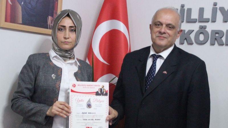 MHP Körfez Kadın Kolları Emine Babuccu'ya emanet