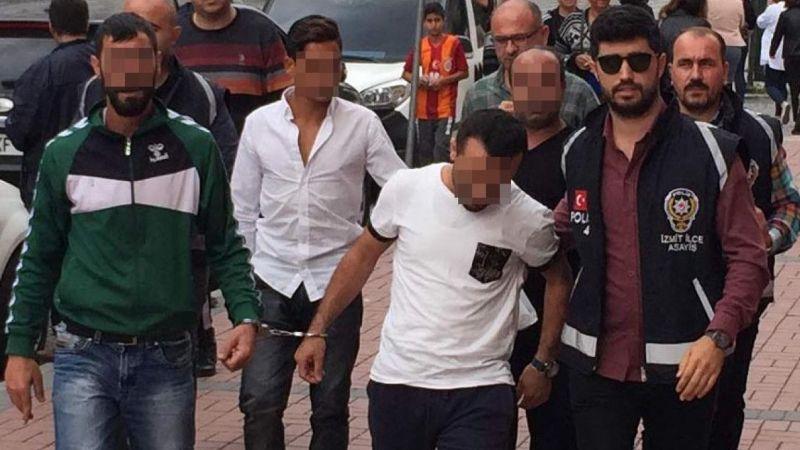 Hırsızlıktan aranan şahıslar tutuklandı