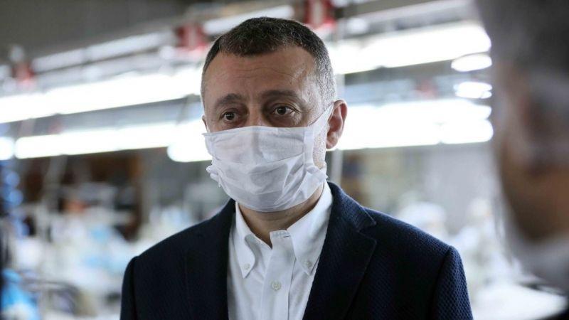 Büyükakın,''Maske üretiminde kapasiteyi artırıyoruz''