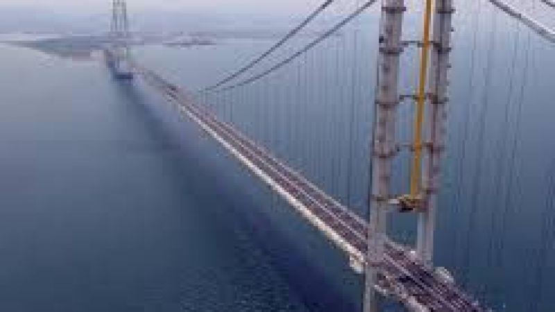 Osmangazi Köprüsü yeşil siyah olacak