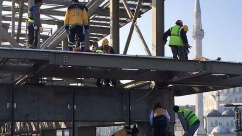 Çatıdan düşen işçi hayatını kaybetti