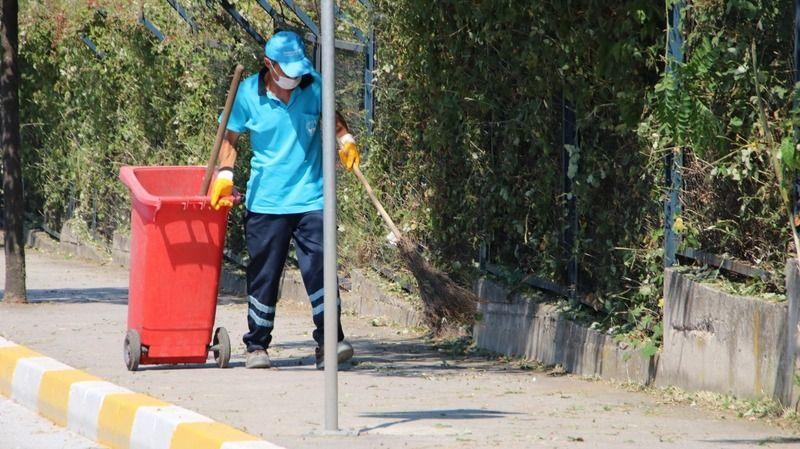 Derince'de sokaklar pırıl pırıl