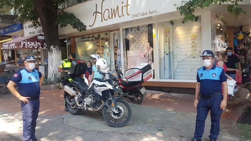İzmit Belediyesinden motosiklet sürücülerine uyarı