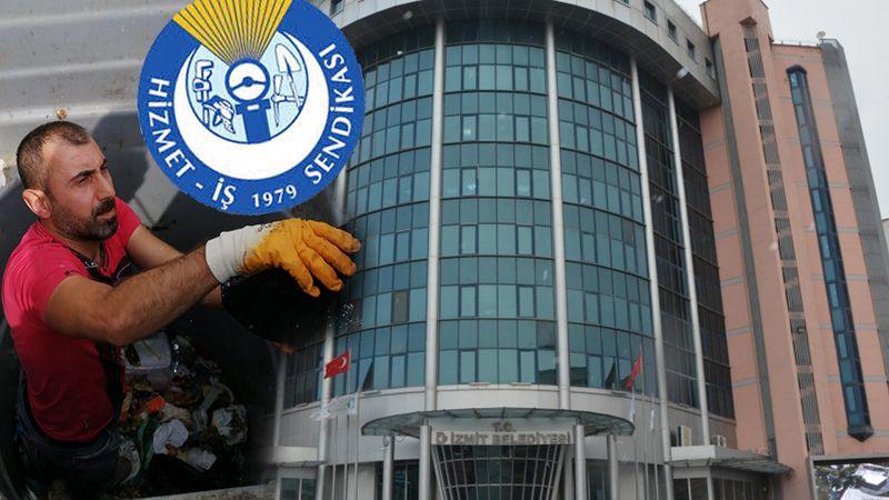 Hizmet İş'ten İzmit Belediyesine jet cevap: Koca bir yalan