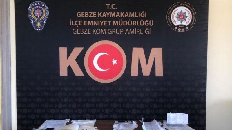 Kocaeli'de tefecilikten 8 kişi tutuklandı