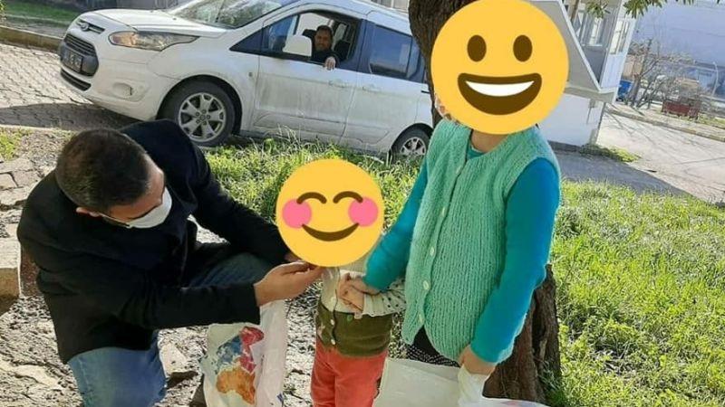 Dilovası'nda ihtiyaç sahibi çocuklara hediye verildi