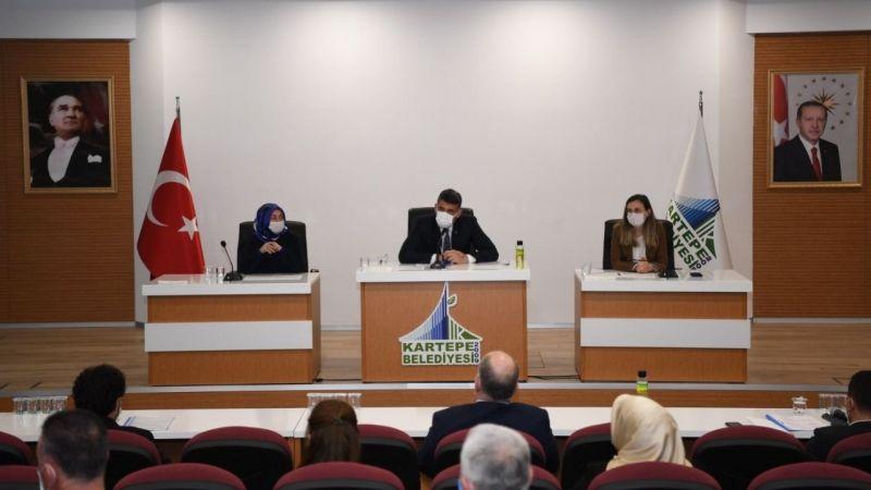 Kartepe Meclisi'nde 11 madde görüşüldü