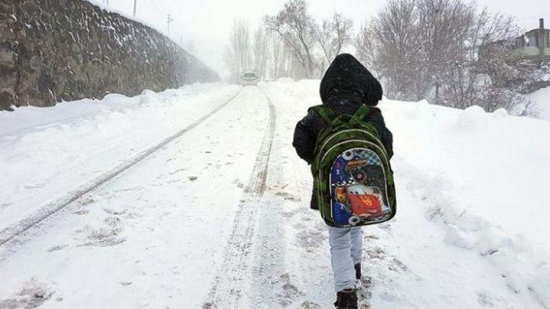 Kocaeli'de okullara iki gün daha kar tatili!