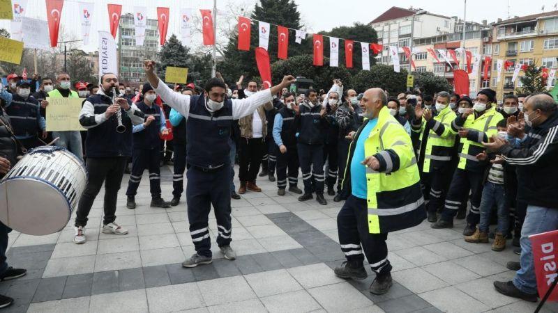 İzmit'te en düşük maaş 4 bin 535 lira oldu: Çalışanlar göbek attı