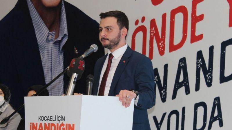 AK Gençlerde Baki Özdemir seçilmiş başkan