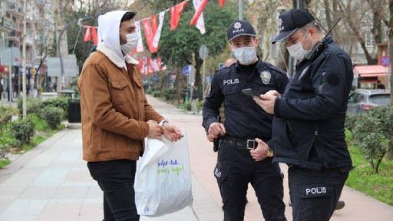 Tedbirlere uymayan 405 kişiye ceza yağdı