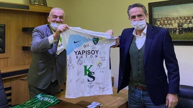 Zeki Akyol'dan Aksoy'a ziyaret