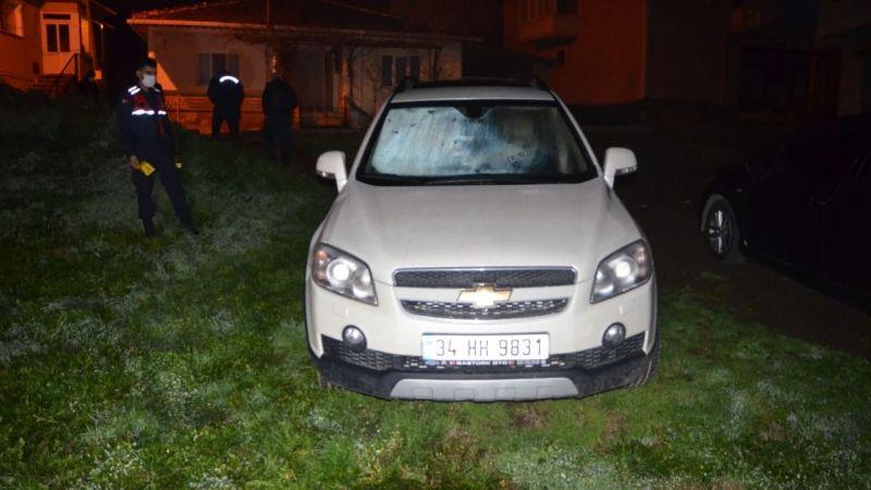 Aracı kurşuna dizen şahıslar 21 gün sonra yakayı ele verdi