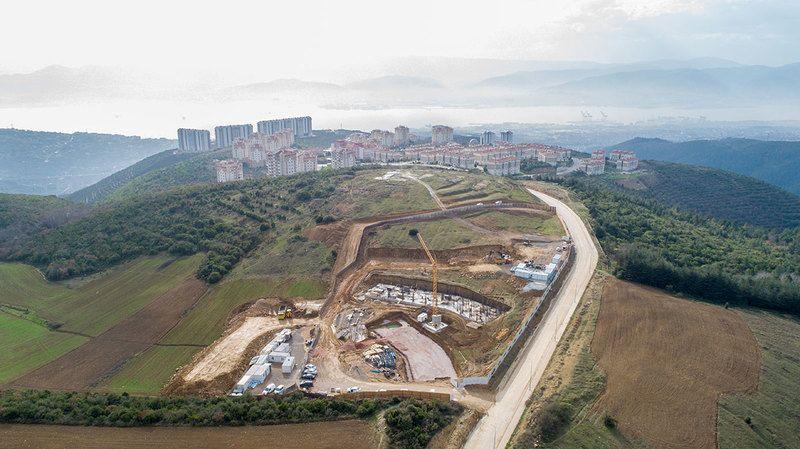 'İzmit Çınar Evler' inşaatı son hızla sürüyor
