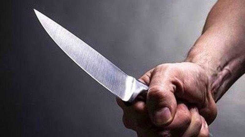 Reyondaki bıçakla bileklerini kesti