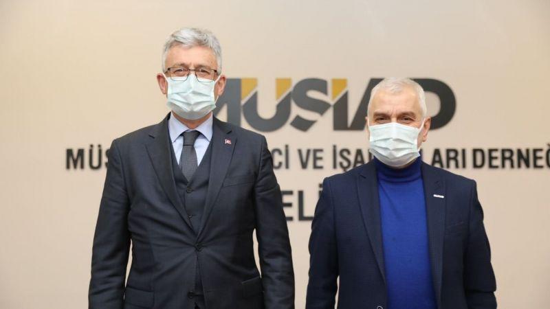 Ellibeş'ten, MÜSİAD'a ziyaret