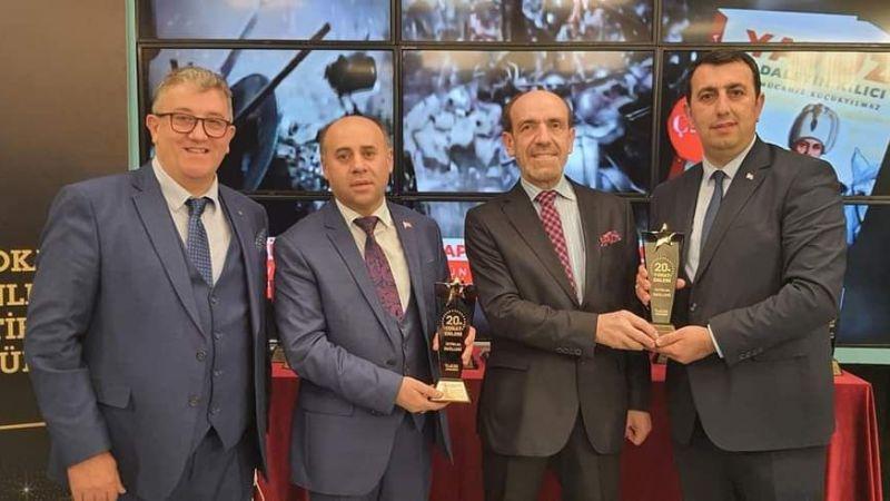 Başhekim Şaşkın'a 'Yılın başarılı yöneticisi' ödülü