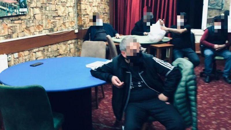 Kahvehanede yakalanan 11 kişiye ceza kesildi