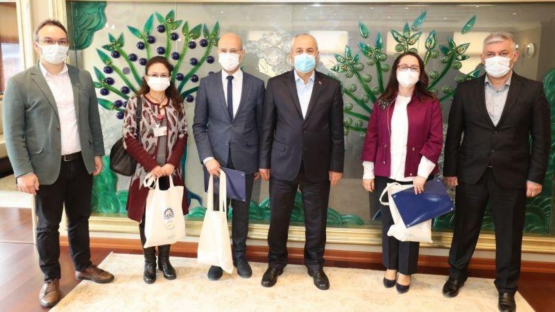Başkan Büyükgöz'den çevreci kurumlara teşekkür belgesi