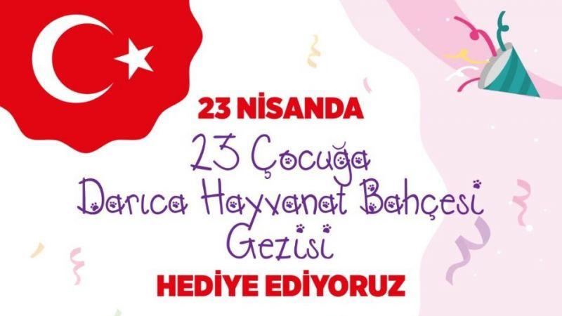 Darıca'da 23 Nisan'a özel kutlama