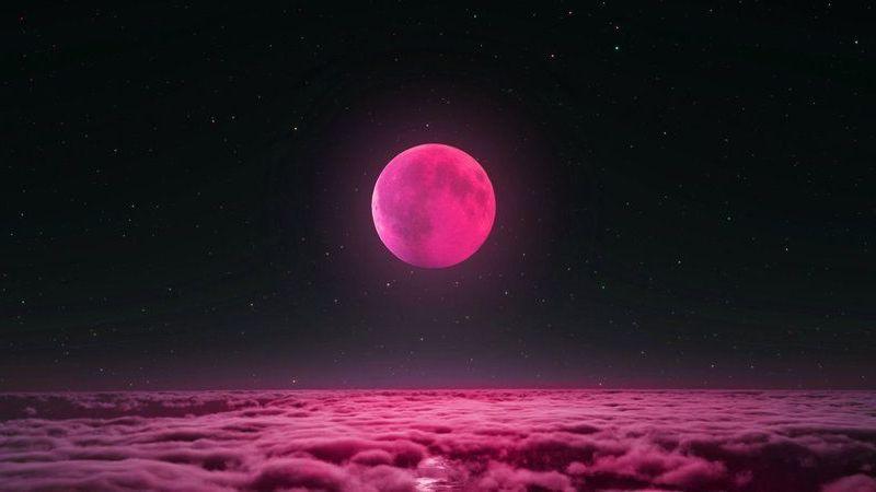 Bu gece gökyüzüne bakın! Pembe ay geliyor...