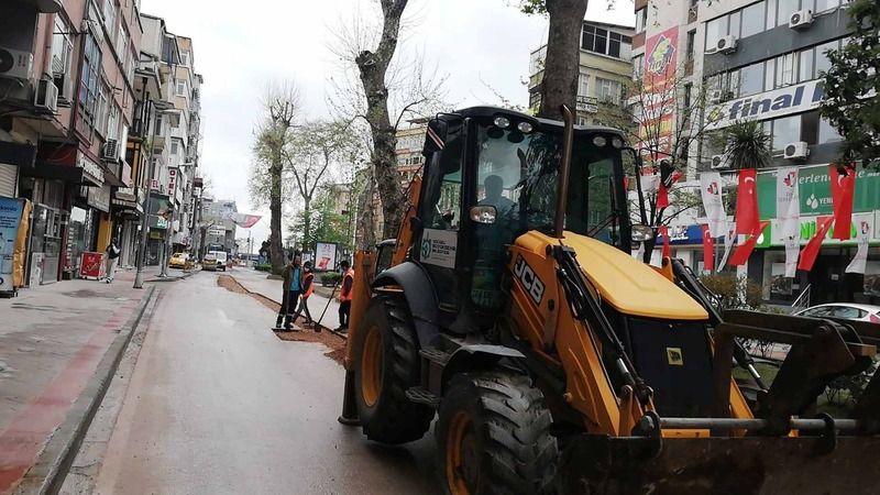 Büyükşehir, araç ve yayaların sorunsuz ulaşımı için çalışıyor