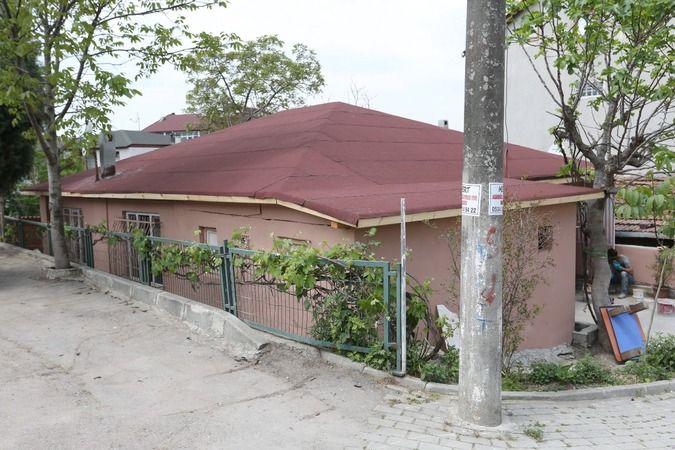Yangın mağduru ailenin evi yenilendi