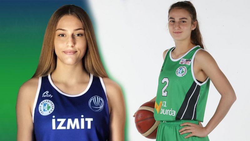 İzmit Belediyespor'un genç yıldızları Defne ve İpek milli takıma çağrıldı