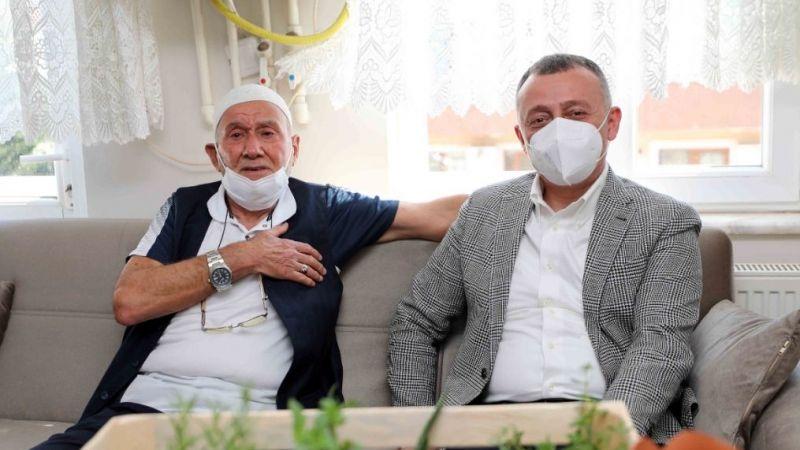 """Büyükakın'dan bayram ziyareti: """"Büyükşehir bizim ailemiz gibi"""""""