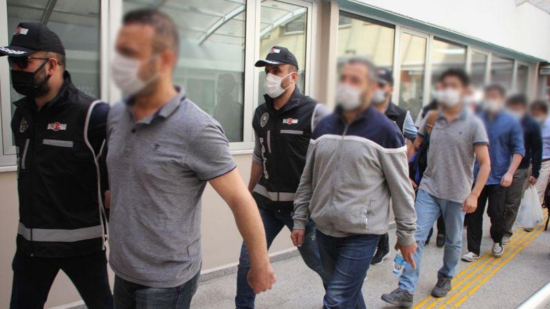 FETÖ şüphelisi 6 kişiden 1'i tutuklandı