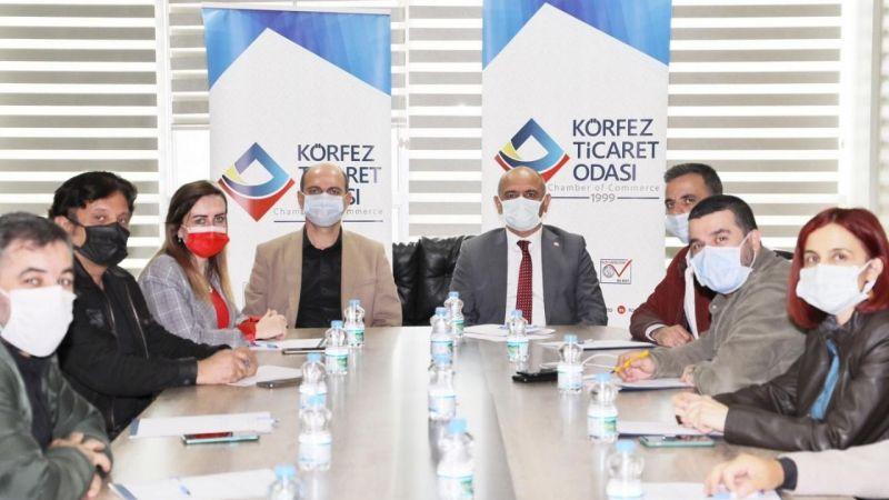 KTO inşaat sektör temsilcileri Başkan Söğüt'le buluştu
