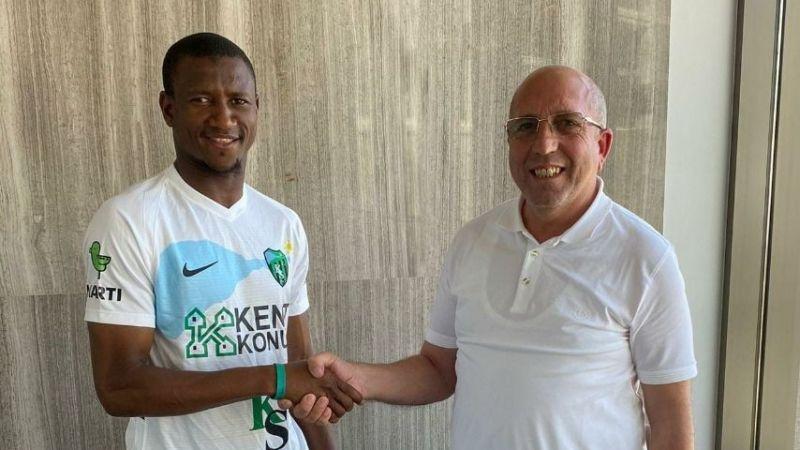 Sözleşme imzaladı: Cisse, Kocaelispor'da!