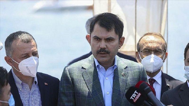 Bakan Kurum: Marmara Denizi'nin tamamını 'Koruma Alanı' ilan edeceğiz