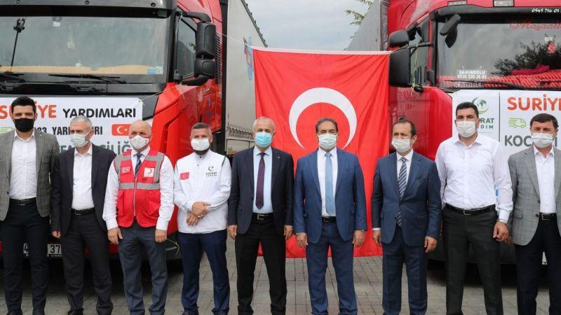 Gebze'den Suriye'ye yardım eli