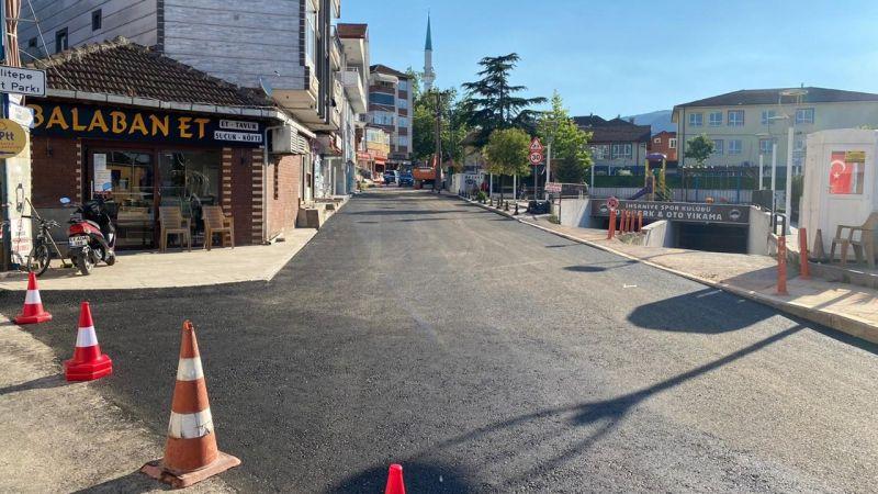 İhsaniye Kent Meydanı'nda alt ve üstyapı çalışmaları tamamlandı