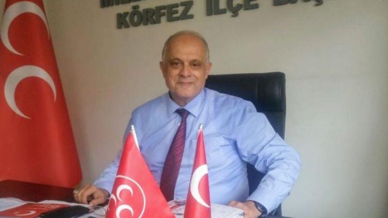 """MHP Körfez İlçe Başkanı Zeki Gürsu: """"İlçemize spor lisesi istiyoruz"""""""
