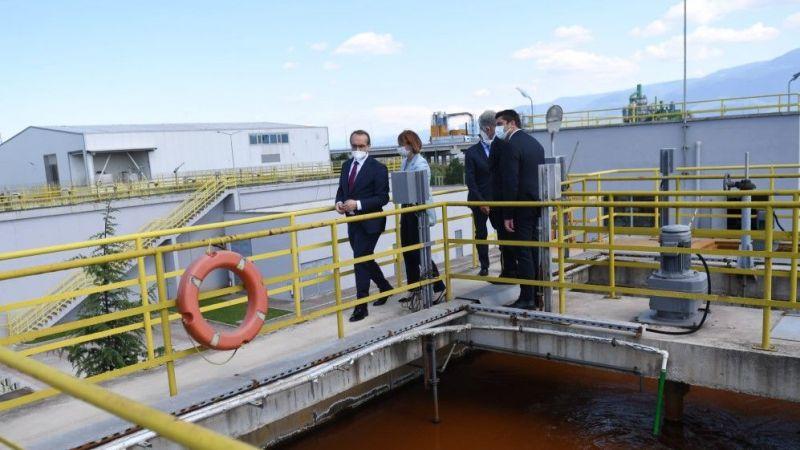 Vali Yavuz atık tesisini inceledi