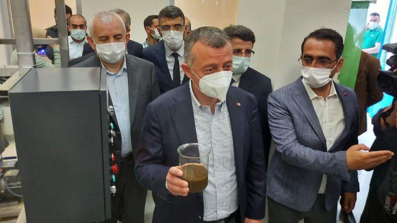 TABİP'te önemli adım: Ekstraksiyon Tesisi açıldı