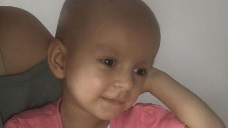 Alya bebek kansere yenik düştü