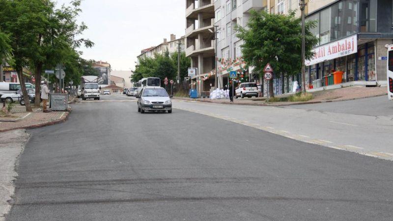 Mehmet Akif Ersoy Caddesi'nde yol konforu arttırıldı