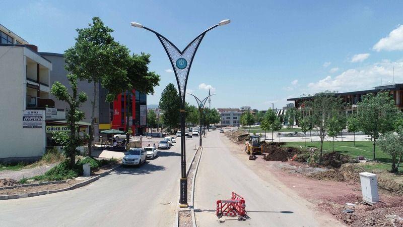 Selahattin Eyyübi Caddesi'nde son rötuşlar