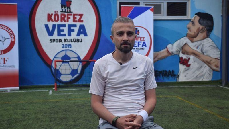Kansere yakalanan genç antrenör futbolla hayata tutundu