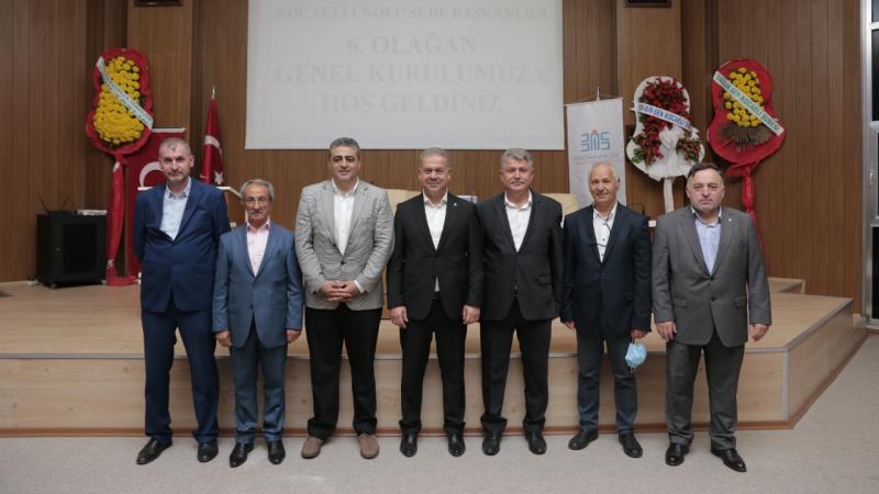 Büro Memur-Sen'de yeniden Ömer Türk