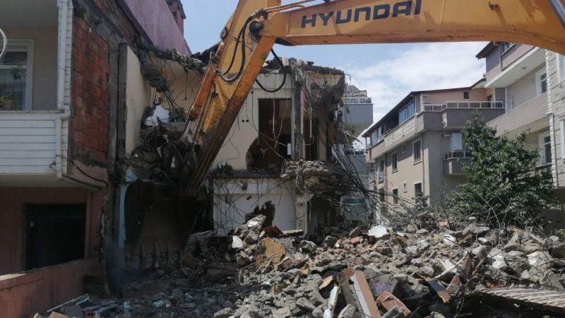 Körfez'de 6 ayda 16 metruk bina yıkıldı
