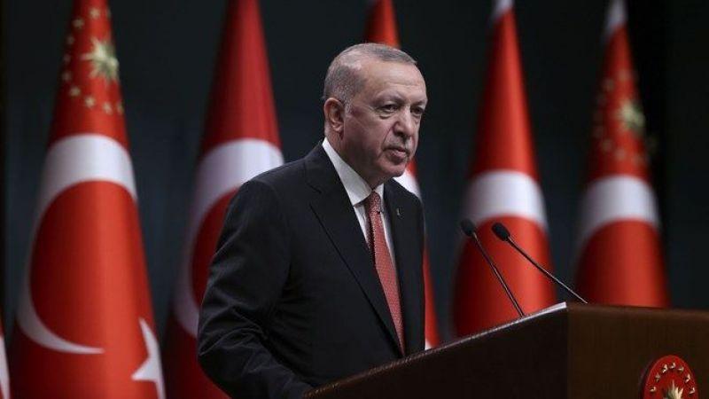 Erdoğan açıkladı: Sokak kısıtlamaları sona eriyor!