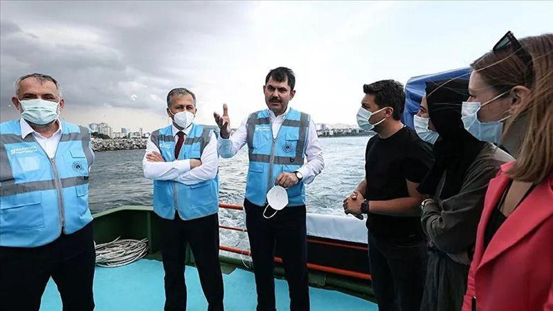"""Bakan Kurum İzmit'e geliyor: """"Marmara Denizi'ne oksijen vereceğiz"""""""