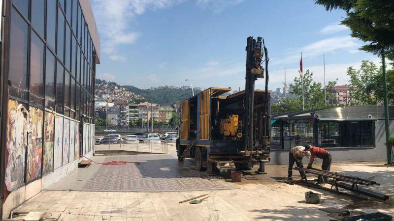 Sabancı Kültür Merkezi'nde zemin etüt çalışmaları başladı
